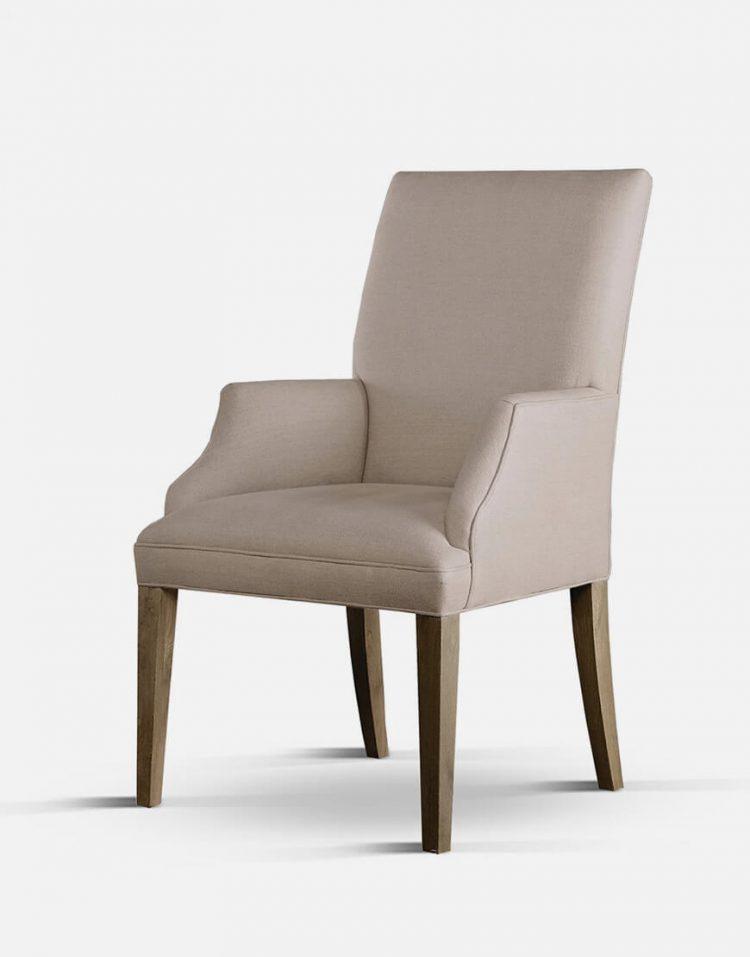 صندلی ناهارخوری پایه چوبی تولیکا مدل تویا