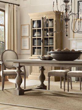 میز ناهارخوری طرح صراحی چوبی تولیکا مدل النا