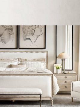 tolica wooden frame and Textile sack bed model elena 2 268x358 - تخت تولیکا از چوب و پارچه گونی بافت مدل النا