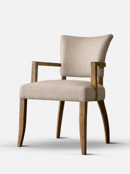 صندلی ناهار خوری با فریم چوبی تولیکا مدل ورتا