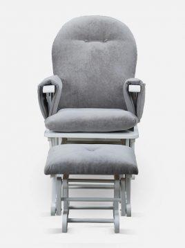 صندلی گهواره ای تمام چوب تولیکا