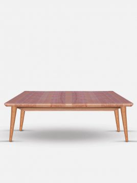 میز جلو مبلی ساده چوبی تولیکا مدل کیا