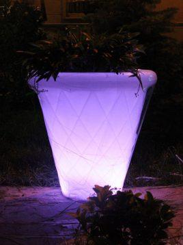 azinpolinoor indoor planters Diamond model2 268x358 - گلدان نورانی آذین پلی نور مدل لوزی