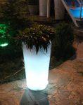 گلدان نورانی آذین پلی نور مدل استوانه