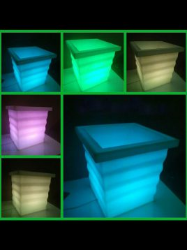azinpolinoor indoor planters sinosi model2 268x358 - گلدان نورانی آذین پلی نور مدل سینوسی