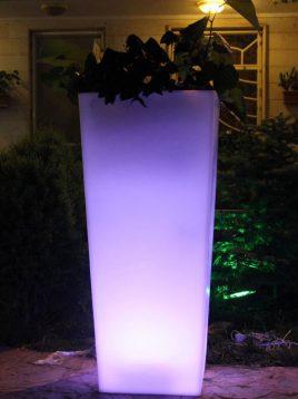azinpolinoor indoor planters standing model2 268x358 - گلدان نورانی آذین پلی نور مدل ایستاده