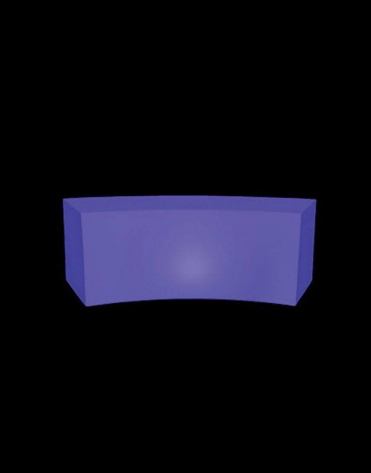 نشیمن باکس نورانی آذین پلی نور مدل هلالی