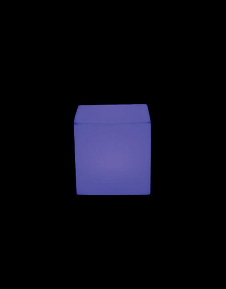 نشیمن باکس نورانی آذین پلی نور مدل مکعب