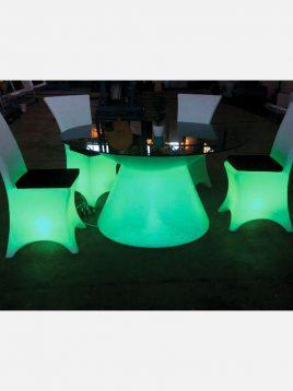 azinpolinoor patio tables Dining table conical model2 268x358 - میزغذاخوری سوآرز آذین پلی نور مدل مخروطی