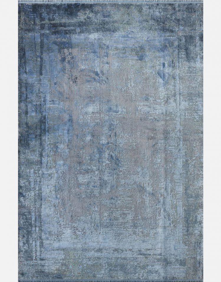 فرش مدرن آبی کد M175A