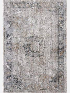 فرش مدرن خاکستری کرم کد A796A