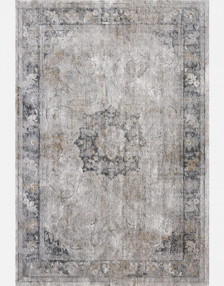 voodoohome Gray cream modern carpet codeA796A 1 750x957 - فرش مدرن خاکستری کرم کد A796A