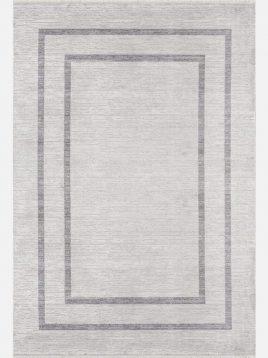فرش مدرن مدل موس خاکستری کد ۳۳۱۲