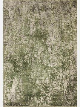 فرش مدرن مدل میستیک سبز کد ۳۲۰۷