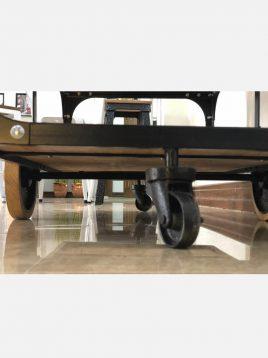 voodoohome metal wood bar table code VW107 2 268x358 - میزبار چوبی فلزی کد VW107
