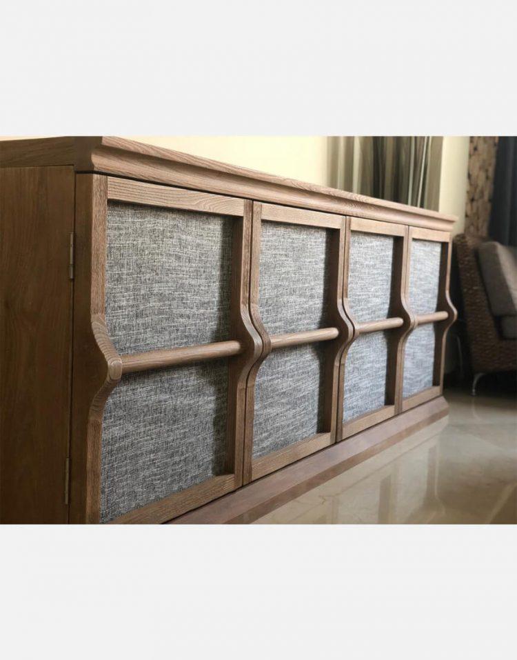 voodoohome wooden console table code Vw103 1 750x957 - کنسول چوب طبیعی کد Vw103