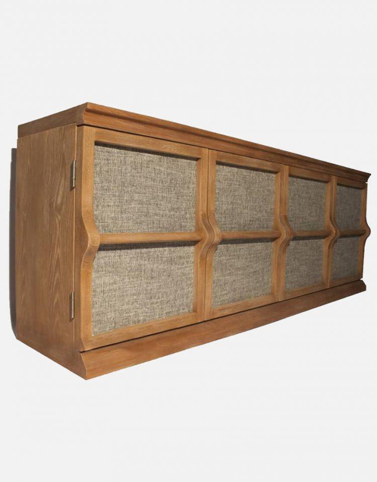 voodoohome wooden console table code Vw103 2 750x957 - کنسول چوب طبیعی کد Vw103
