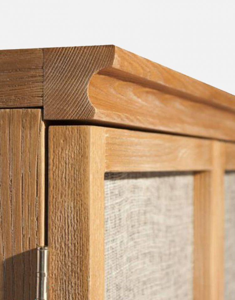 voodoohome wooden console table code Vw103 3 750x957 - کنسول چوب طبیعی کد Vw103