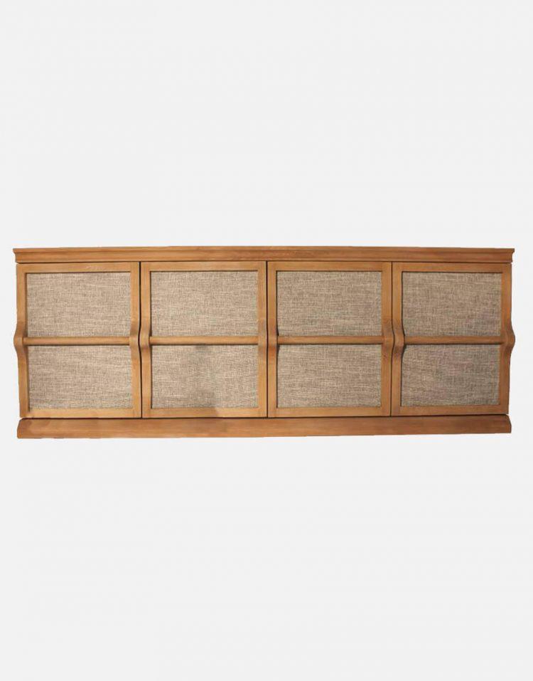 voodoohome wooden console table code Vw103 4 750x957 - کنسول چوب طبیعی کد Vw103