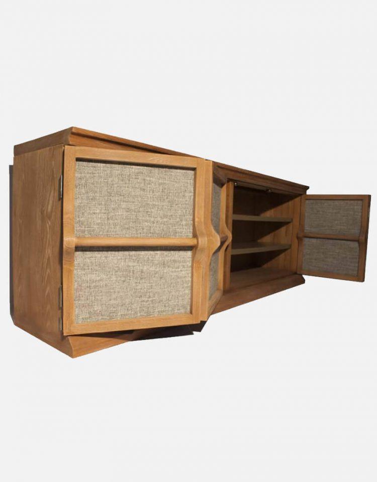 voodoohome wooden console table code Vw103 5 750x957 - کنسول چوب طبیعی کد Vw103
