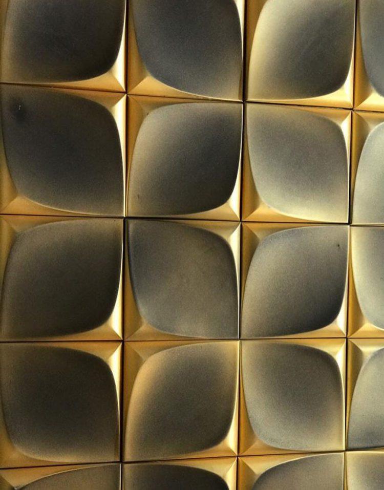 دیوارپوش دکوراتیو جی آرسی دکواستون مدلF103