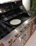 باربیکیو و آشپزخانه فضای باز جهان گاز طرح خطی