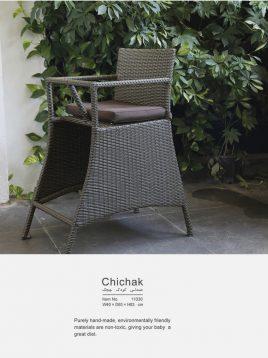 صندلی کودک حصیری بورنووی مدل چیچک