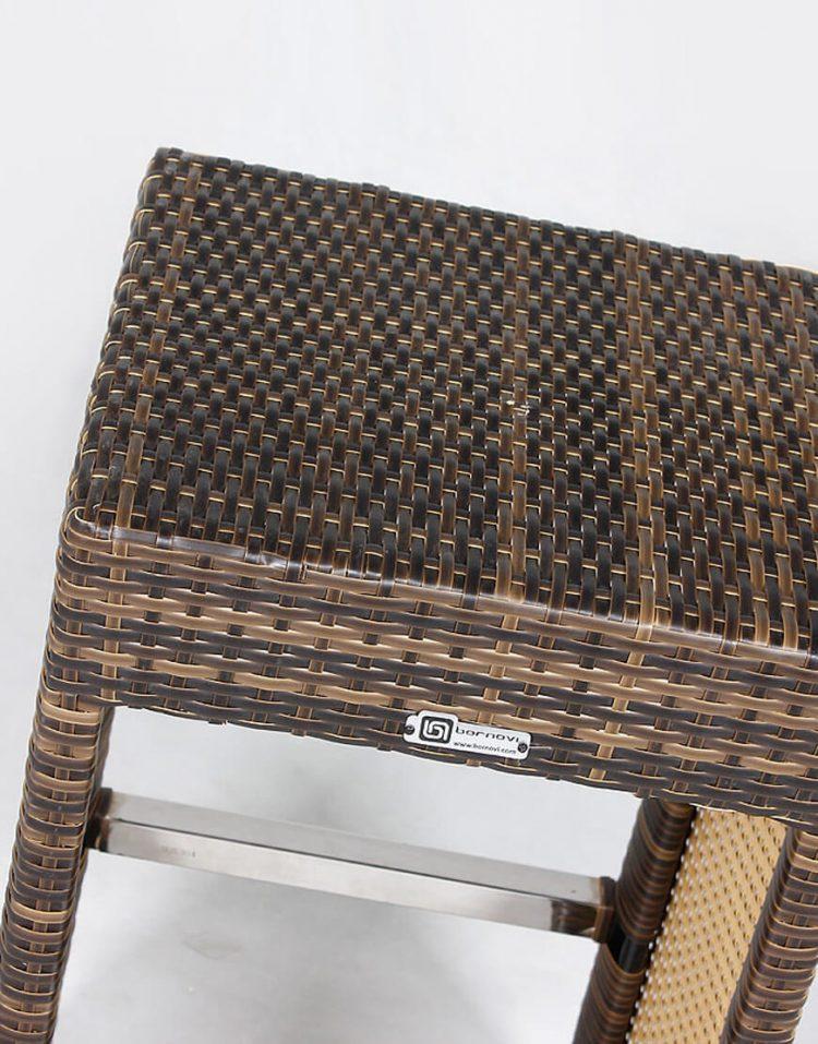 صندلی و میز بار حصیری بورنووی مدل کاپری