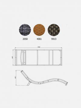 تخت کنار استخری حصیری بورنووی مدل مارس