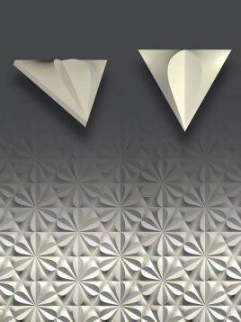 پنل دکوراتیو سه بعدی داژو مدلM14