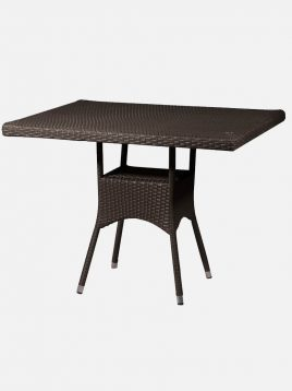 میز حصیری حیاطی دکورز مدل والنسیا