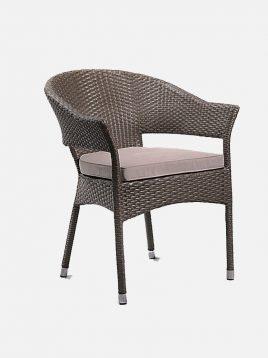 صندلی حصیری فضای باز دکورز مدل یوکا