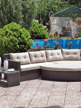 decorose patio conversation sets amester model1 268x358 - ست صندلی حصیری دستبافت دکورز مدل امستر