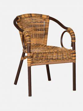 decorose patio dining chairs nemoon model1 268x358 - صندلی حیاط حصیری دکورز مدل نمون