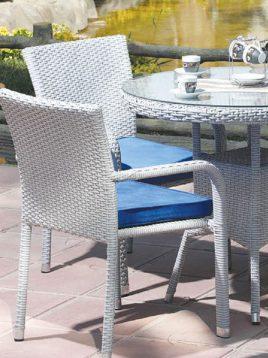 ست میز صندلی تراس دکورز مدل ورونیکا
