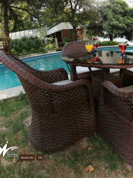 ست میز صندلی باغی ویلا کوهبر مدل ۱۰۶