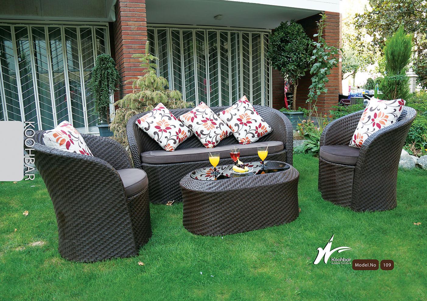 kohbar patio conversation sets 109 model0 - ست مبلمان فضای باز کوهبر مدل ۱۰۹ - - patio-conversation-sets