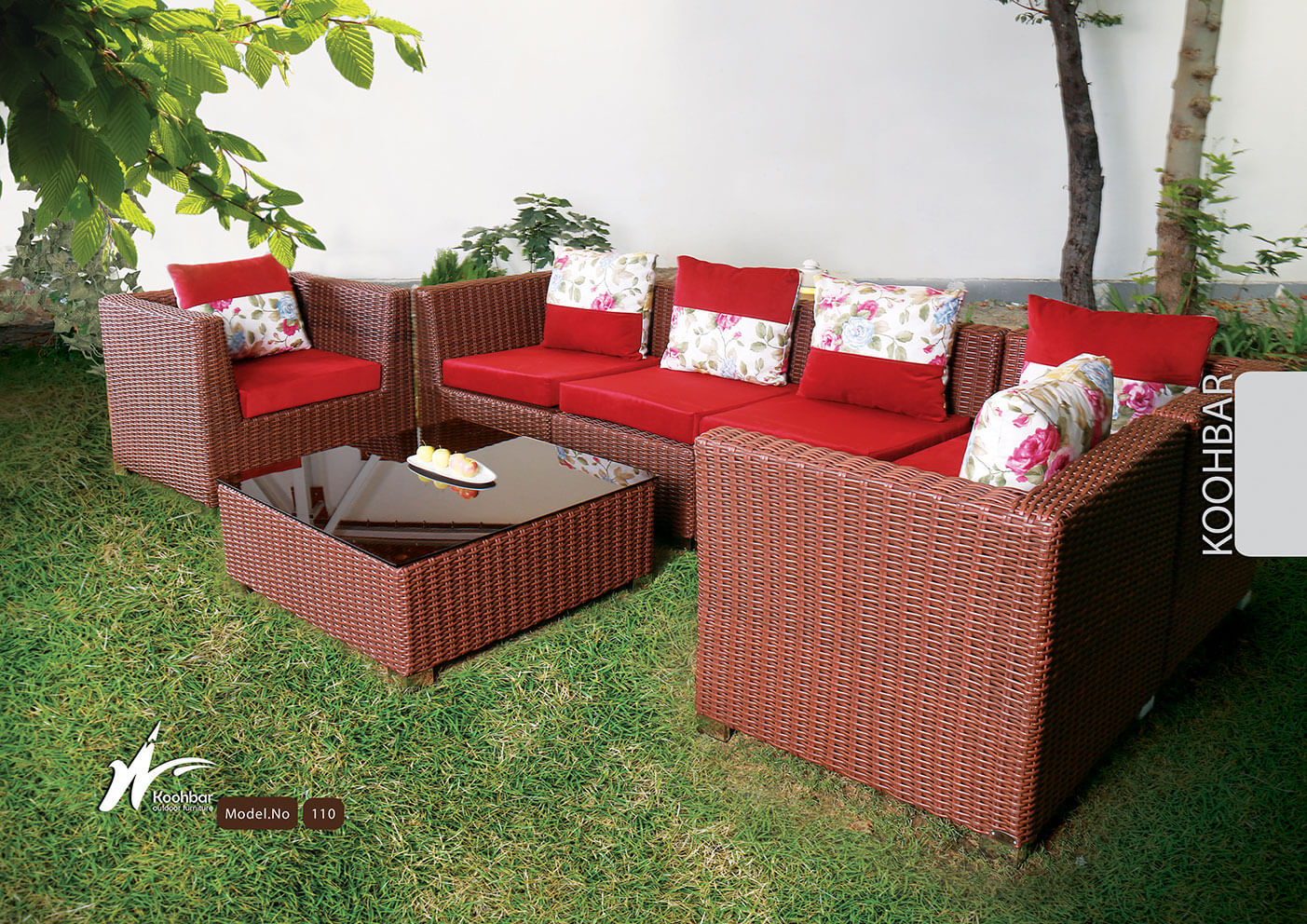 kohbar patio conversation sets 110 model0 - ست نشیمن باغی کوهبر مدل ۱۱۰ - - patio-conversation-sets