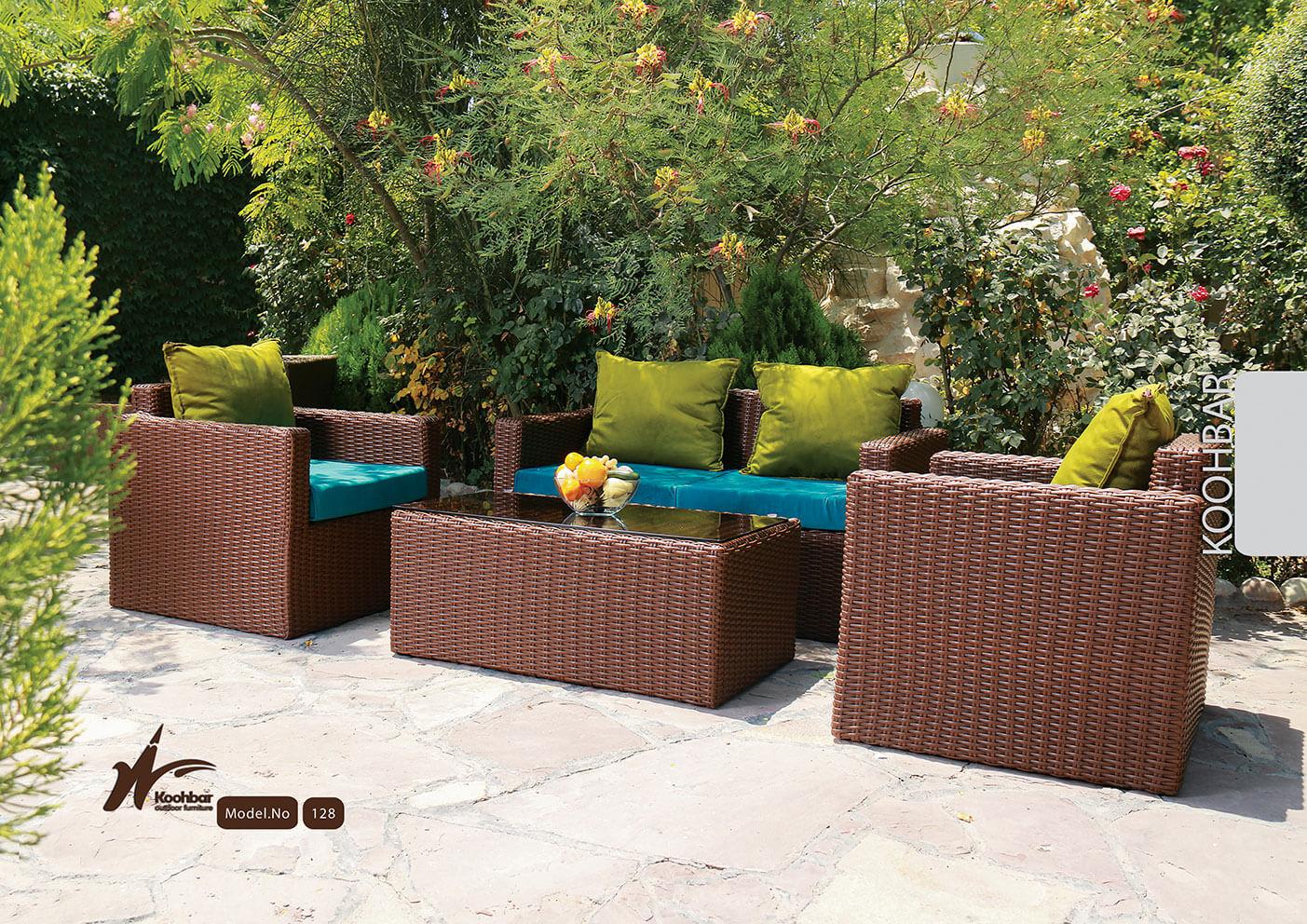 kohbar patio conversation sets 128 model0 - ست مبلمان حیاط کوهبر مدل ۱۲۸ - - patio-conversation-sets