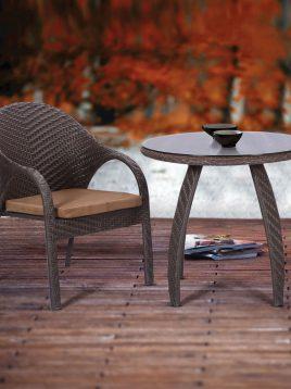 ست میز صندلی چایخوری محوطه کوهبر مدل ۱۴۳