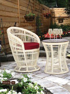 kohbar patio conversation sets 164 model1 268x358 - ست میز صندلی حصیری فضای باز کوهبر مدل ۱۶۴