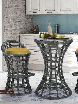 ست میز صندلی بار تراس کوهبر مدل ۱۷۰
