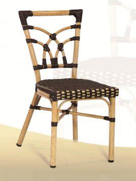 ست میز صندلی حصیری فضای باز کوهبر مدل ۲۰۷