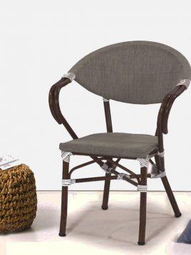 ست میز صندلی حصیری فضای باز کوهبر مدل ۲۱۸