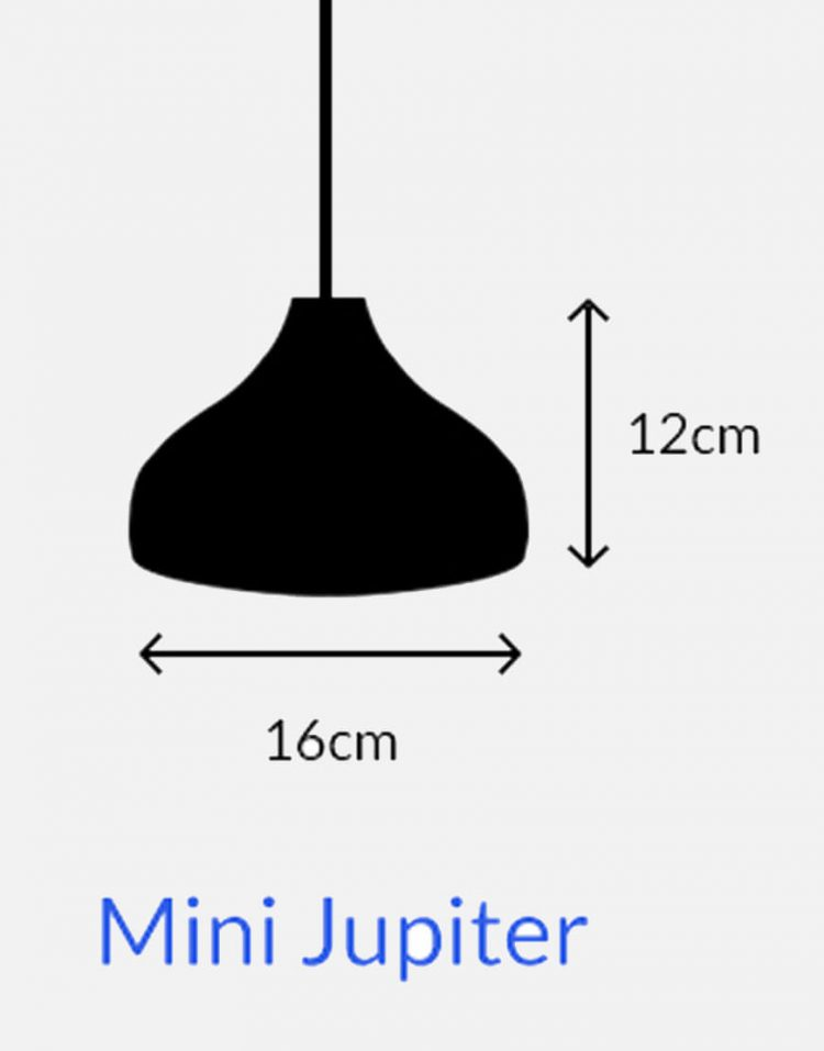 چراغ آویز چوبی مدل مینی ژوپیتر