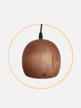 چراغ آویز چوبی مدل مرینوس