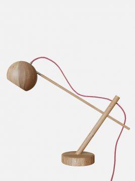 چراغ مطالعه چوبی مدل لوپیکا