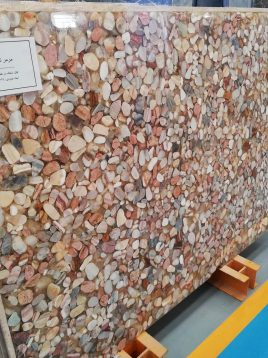 سنگ اسلب مرمر ترکیبی آژیانه