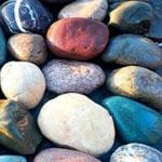 شن و قلوه سنگ محوطه
