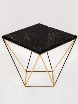 میز جلو مبلی سنگی و فلزی H